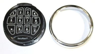 Changing the Battery – SecuRam Keypad | Cannon Safe