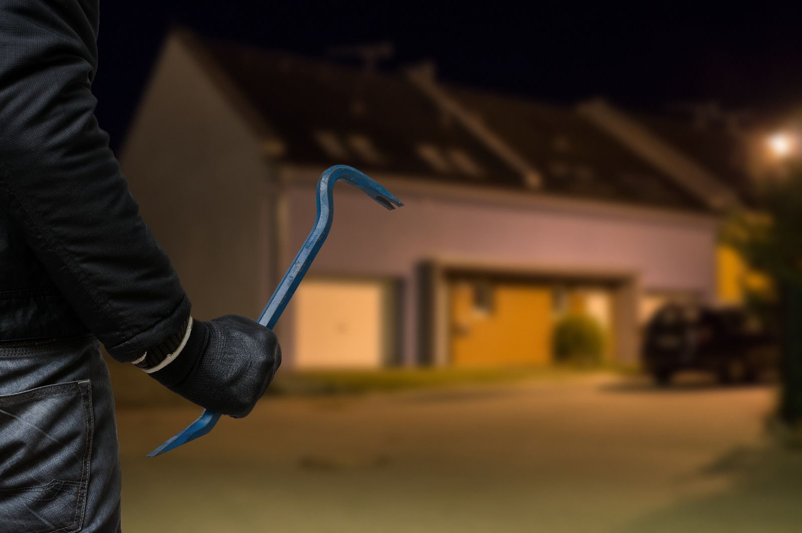 How to protect your home from a burglar attempting to break-in