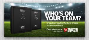 gun safes on sale at tractor supply