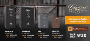 cannon safe gun safes on sale