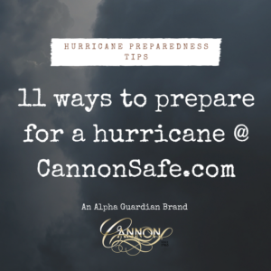 11 ways to prepare for a hurricane