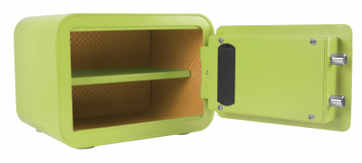 green small personal safe