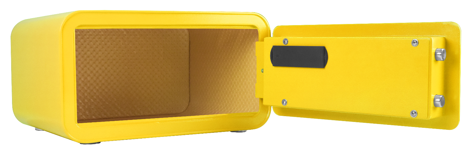 yellow personal safe