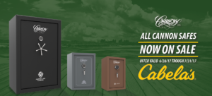 gun safes at cabelas