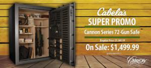 large 72 gun safe sale: Cabela's