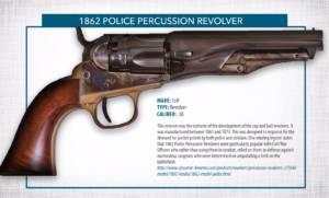 1862 police percussion revolver