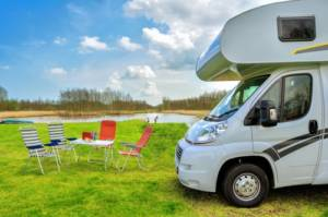 chairs and rv camper