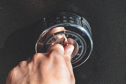 electronic mechanical protection lock