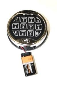 changing digital safe battery