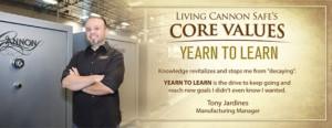 cannon safe core values